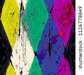 seamless geometric pattern... | Shutterstock .eps vector #1126778849