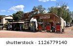 daly waters  australia   jun 13 ...   Shutterstock . vector #1126779140
