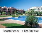palma de mallorca  spain  ... | Shutterstock . vector #1126789550