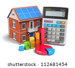 home finance concept ...   Shutterstock . vector #112681454