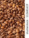 coffee bean background | Shutterstock . vector #112681619