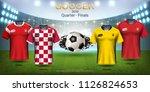 football cup 2018 world... | Shutterstock .eps vector #1126824653