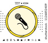 microphone icon symbol | Shutterstock .eps vector #1126852409