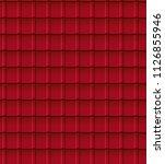 tiles roof seamless texture | Shutterstock .eps vector #1126855946