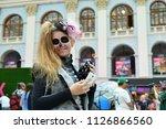 moscow  russia   june 29  2018  ... | Shutterstock . vector #1126866560