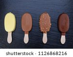 Ice Cream On Stick Covered Wit...