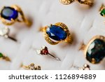 beautiful jewelry show for sale ...   Shutterstock . vector #1126894889