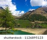 walking at 1689 m altitude... | Shutterstock . vector #1126895123