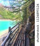 walking at 1689 m altitude... | Shutterstock . vector #1126895126