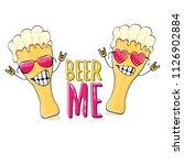 beer me vector concept...   Shutterstock .eps vector #1126902884