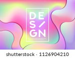abstract colorful shape and... | Shutterstock .eps vector #1126904210