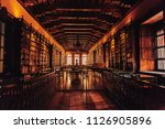 library of the convent of santo ... | Shutterstock . vector #1126905896
