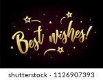 best wisher card  banner.... | Shutterstock .eps vector #1126907393