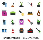 colored vector icon set  ... | Shutterstock .eps vector #1126914083