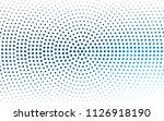 light blue  yellow vector... | Shutterstock .eps vector #1126918190