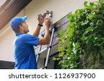 electrical maintenance  ... | Shutterstock . vector #1126937900