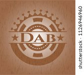 dab wooden emblem | Shutterstock .eps vector #1126946960