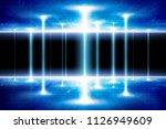 sci fi background  ... | Shutterstock . vector #1126949609