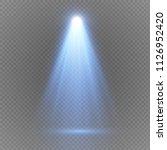 light sources  concert... | Shutterstock .eps vector #1126952420