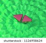 left right mark icon on...   Shutterstock . vector #1126958624