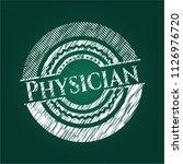 physician written on a... | Shutterstock .eps vector #1126976720
