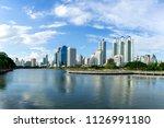 bangkok city   cityscape...   Shutterstock . vector #1126991180