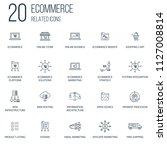 set of 100 ecommerce related...