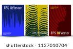 creative cover template in... | Shutterstock .eps vector #1127010704