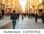 turkey  istanbul  06 march 2012.... | Shutterstock . vector #1127017013