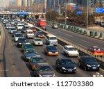 Beijing   Feb 25  Traffic Jam...