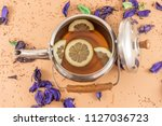 the time of tea break | Shutterstock . vector #1127036723