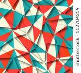 seamless vector background | Shutterstock .eps vector #112704259