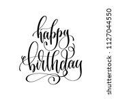 happy birthday   holiday banner ... | Shutterstock . vector #1127044550
