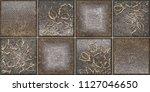 digital tiles design. colorful... | Shutterstock . vector #1127046650
