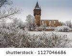 saale unstrut germany saxony... | Shutterstock . vector #1127046686