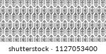 classic feathers pattern design ... | Shutterstock .eps vector #1127053400