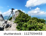 the photo camera in great... | Shutterstock . vector #1127054453