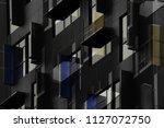 double exposure photo of... | Shutterstock . vector #1127072750