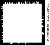 grunge texture frame abstract... | Shutterstock .eps vector #1127088419