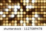 flashing lights bulb spotlight... | Shutterstock . vector #1127089478