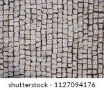 portuguese pavement   sidewalk... | Shutterstock . vector #1127094176