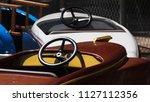 amusement park rides | Shutterstock . vector #1127112356
