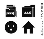 interface related set of 4...   Shutterstock .eps vector #1127114000
