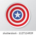 puerto rico flag vector in... | Shutterstock .eps vector #1127114939