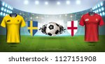 football cup 2018 world... | Shutterstock .eps vector #1127151908