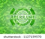 aberrant realistic green mosaic ...   Shutterstock .eps vector #1127159570