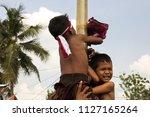 jakarta  indonesia   august 17... | Shutterstock . vector #1127165264