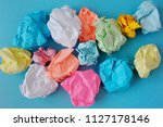 The Multi Colored Crumpled ...