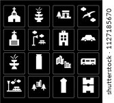 set of 16 icons such as...   Shutterstock .eps vector #1127185670