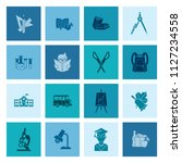 school and education icon set.... | Shutterstock .eps vector #1127234558